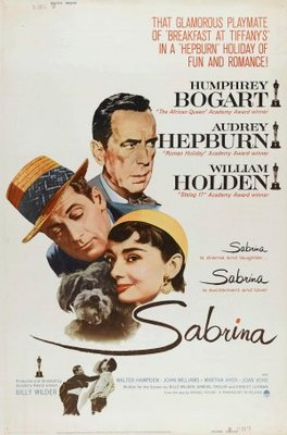 Sabrina movie poster (1954) poster MOV_e93deda6