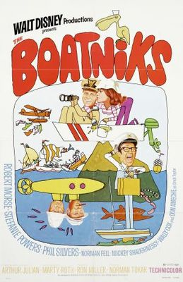 The Boatniks movie poster (1970) poster MOV_e96732c7
