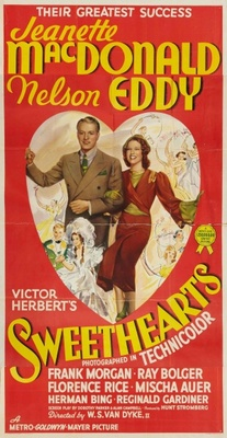 Sweethearts movie poster (1938) poster MOV_e97f72dc