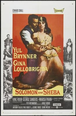 Solomon and Sheba movie poster (1959) poster MOV_e9af8619