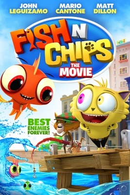 Fish N Chips, Best Enemies Forever movie poster (2013) poster MOV_e9ba905f