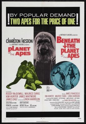 Beneath the Planet of the Apes movie poster (1970) poster MOV_e9bc4fcd