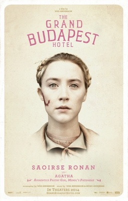 The Grand Budapest Hotel movie poster (2014) poster MOV_e9be25df