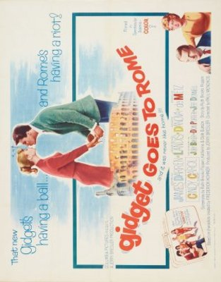 Gidget Goes to Rome movie poster (1963) poster MOV_e9c7102d