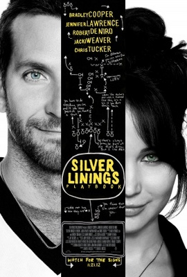 Silver Linings Playbook movie poster (2012) poster MOV_e9cbc30c