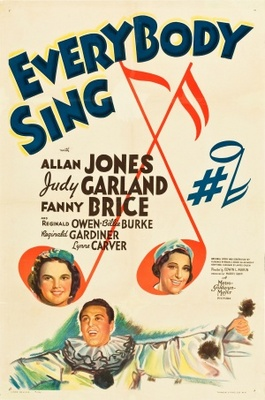 Everybody Sing movie poster (1938) poster MOV_e9d8294d