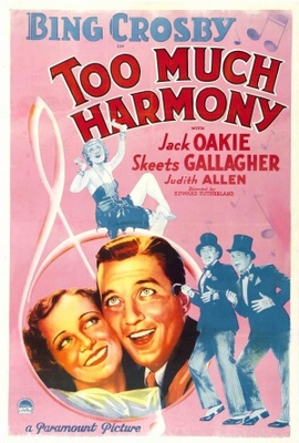Too Much Harmony movie poster (1933) poster MOV_e9db86f9
