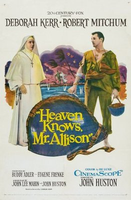 Heaven Knows, Mr. Allison movie poster (1957) poster MOV_e9dbb214