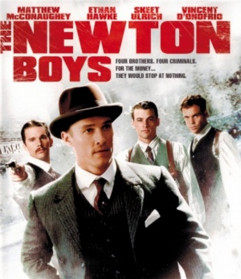 The Newton Boys movie poster (1998) poster MOV_e9e19464