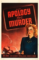 Apology for Murder movie poster (1945) picture MOV_e9fc8139