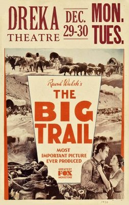 The Big Trail movie poster (1930) poster MOV_ea308aaf