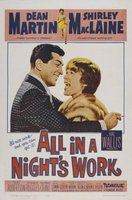 All in a Night's Work movie poster (1961) picture MOV_ea359351