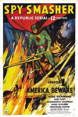 Spy Smasher movie poster (1942) poster MOV_ea7aa61a