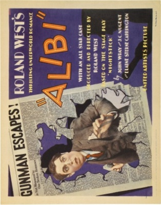 Alibi movie poster (1929) poster MOV_ea80240a
