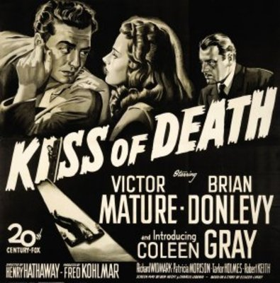 Kiss of Death movie poster (1947) poster MOV_ea892932