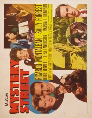 Mystery Street movie poster (1950) poster MOV_ea8bbd5b