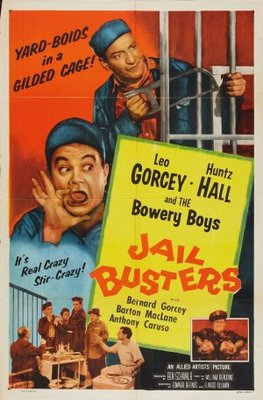 Jail Busters movie poster (1955) poster MOV_ea93dded