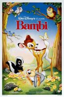 Bambi movie poster (1942) picture MOV_eab45d03