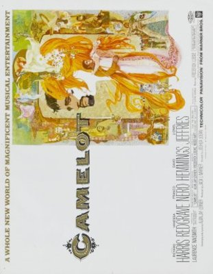 Camelot movie poster (1967) poster MOV_eab49197