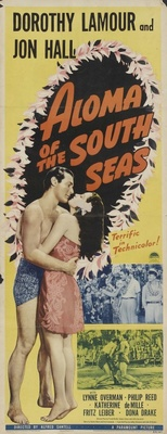 Aloma of the South Seas movie poster (1941) poster MOV_eab55bb2