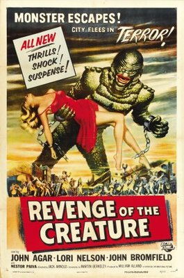Revenge of the Creature movie poster (1955) poster MOV_ead40893