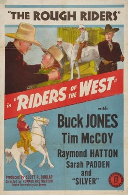 Riders of the West movie poster (1942) poster MOV_eae7206e