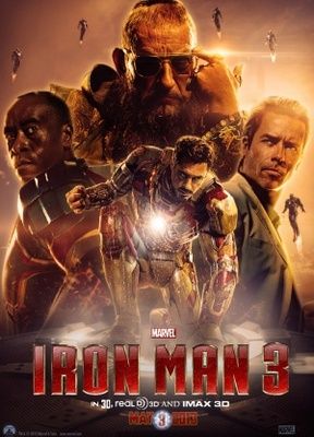 Iron Man 3 movie poster (2013) poster MOV_eaedf45b