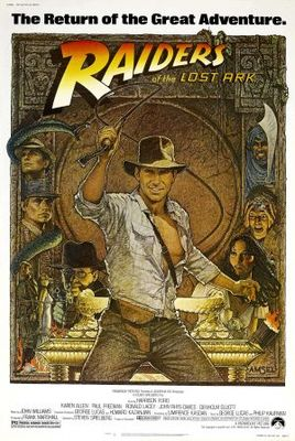 Raiders of the Lost Ark movie poster (1981) poster MOV_eaf25b36