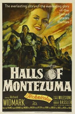 Halls of Montezuma movie poster (1950) poster MOV_eafb5a27