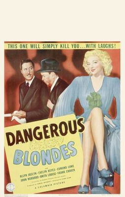 Dangerous Blondes movie poster (1943) poster MOV_eb00dbbc