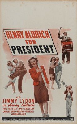 Henry Aldrich for President movie poster (1941) poster MOV_eb085402