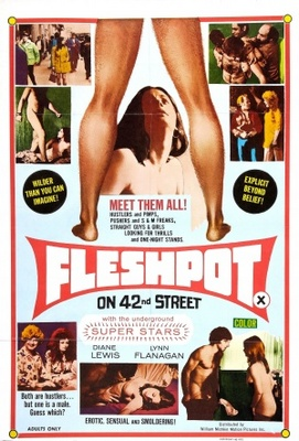 Fleshpot on 42nd Street movie poster (1973) poster MOV_eb0993de
