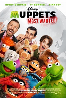 Muppets Most Wanted movie poster (2014) poster MOV_eb13d5c5