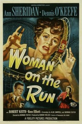 Woman on the Run movie poster (1950) poster MOV_eb1ae5e4