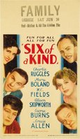 Six of a Kind movie poster (1934) picture MOV_eb3dcee4