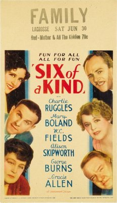 Six of a Kind movie poster (1934) poster MOV_eb3dcee4