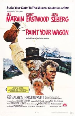 Paint Your Wagon movie poster (1969) poster MOV_eb45f8c0