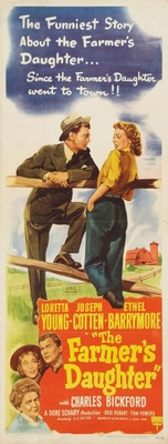 The Farmer's Daughter movie poster (1947) poster MOV_eb7299fc