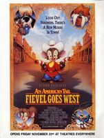 An American Tail: Fievel Goes West movie poster (1991) picture MOV_eb99cbb4