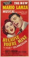 Because You're Mine movie poster (1952) picture MOV_eba0a5d7