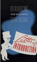 Letter of Introduction movie poster (1938) picture MOV_eba9c064