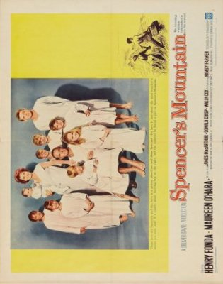 Spencer's Mountain movie poster (1963) poster MOV_ebaf265b