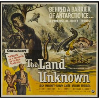 The Land Unknown movie poster (1957) poster MOV_ebc159a8