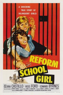 Reform School Girl movie poster (1957) poster MOV_ebc45e36