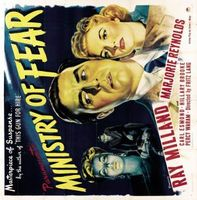 Ministry of Fear movie poster (1944) picture MOV_ebca3f47