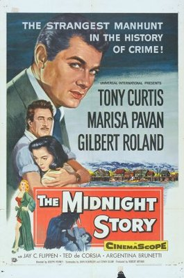 The Midnight Story movie poster (1957) poster MOV_ebd9d36f