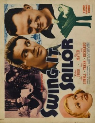 Swing It, Sailor! movie poster (1938) poster MOV_ebde0e3c