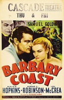 Barbary Coast movie poster (1935) picture MOV_ebf882cc