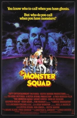 The Monster Squad movie poster (1987) poster MOV_ebfc63fa