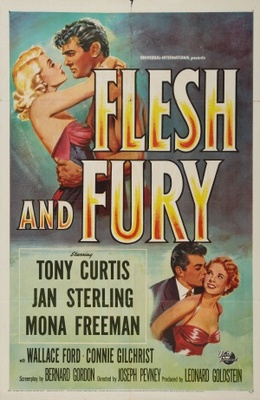 Flesh and Fury movie poster (1952) poster MOV_ec0240e4